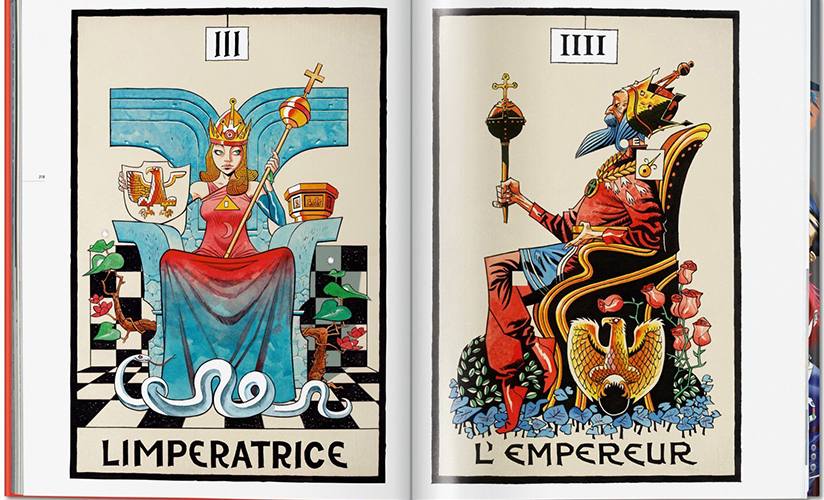 The Suggestionists, tarot cards, image courtesy Taschen