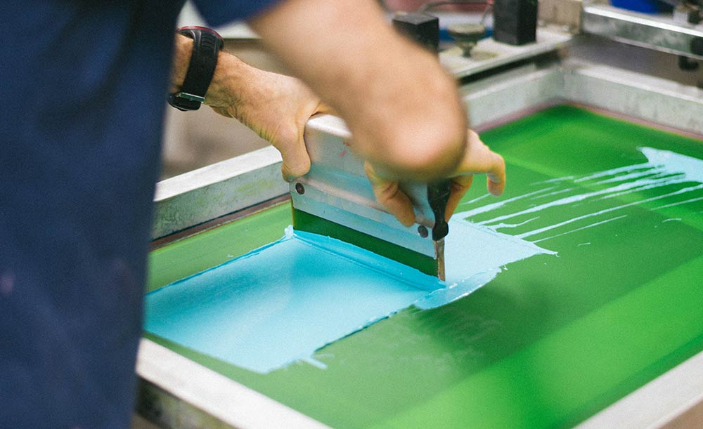 how screen printing works everpress