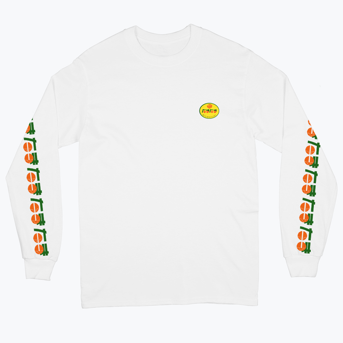 fruit stickers mandarin t shirt