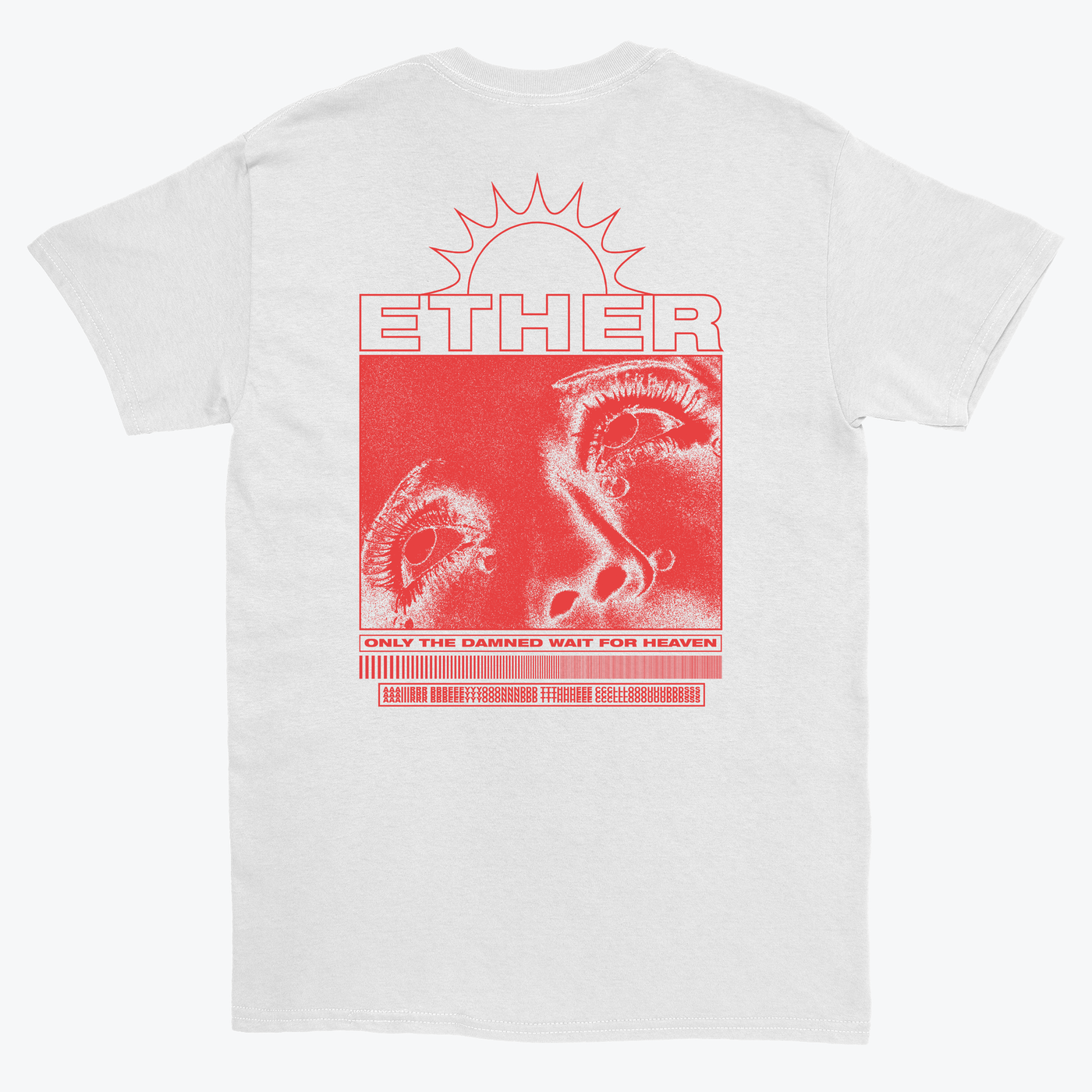 Wellwishers88 'WW88/ETHER' T-shirt