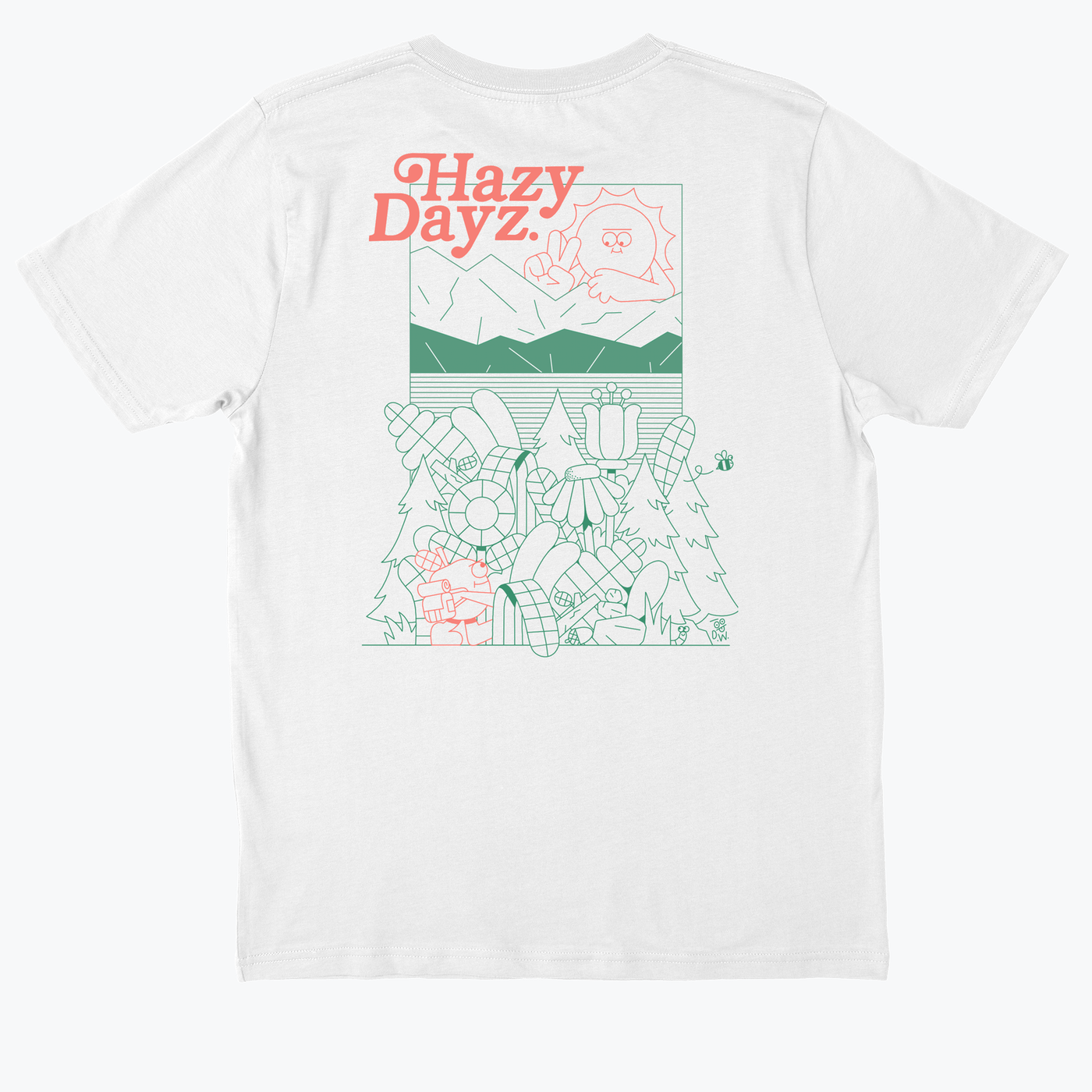 Dan Woodger 'Hazy Days II' T-shirt
