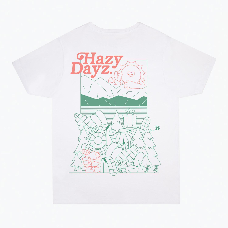 dan-woodger-hazy-days-II-t-shirt