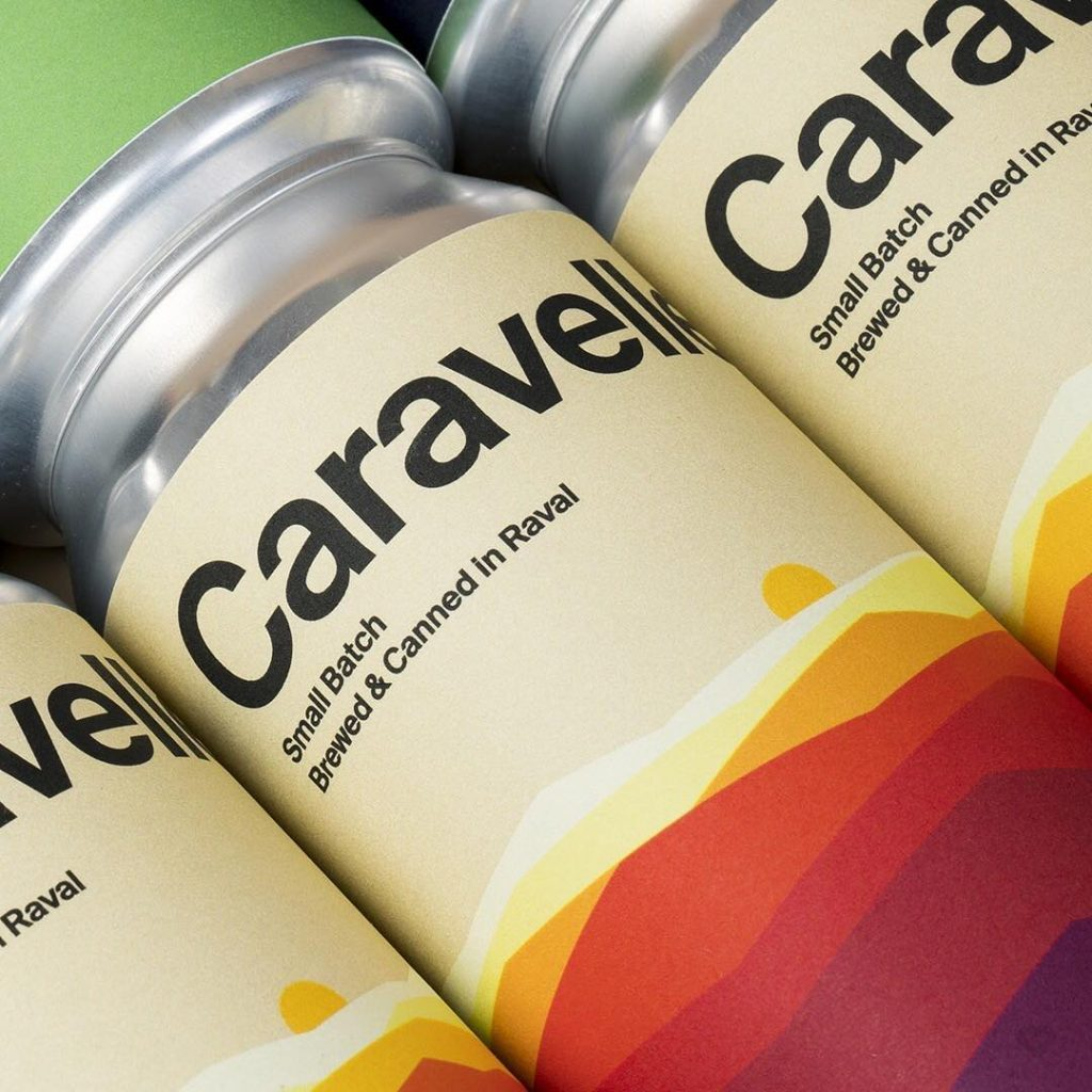 Caravelle packaging design by HEY Studio