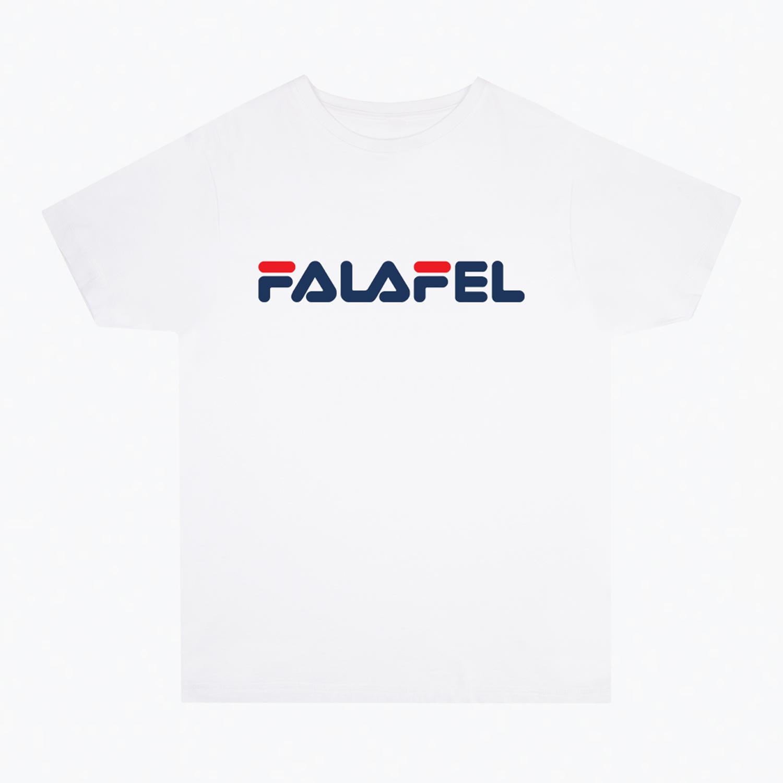 Ahmed Badenjki's 'Falafel' T-shirt