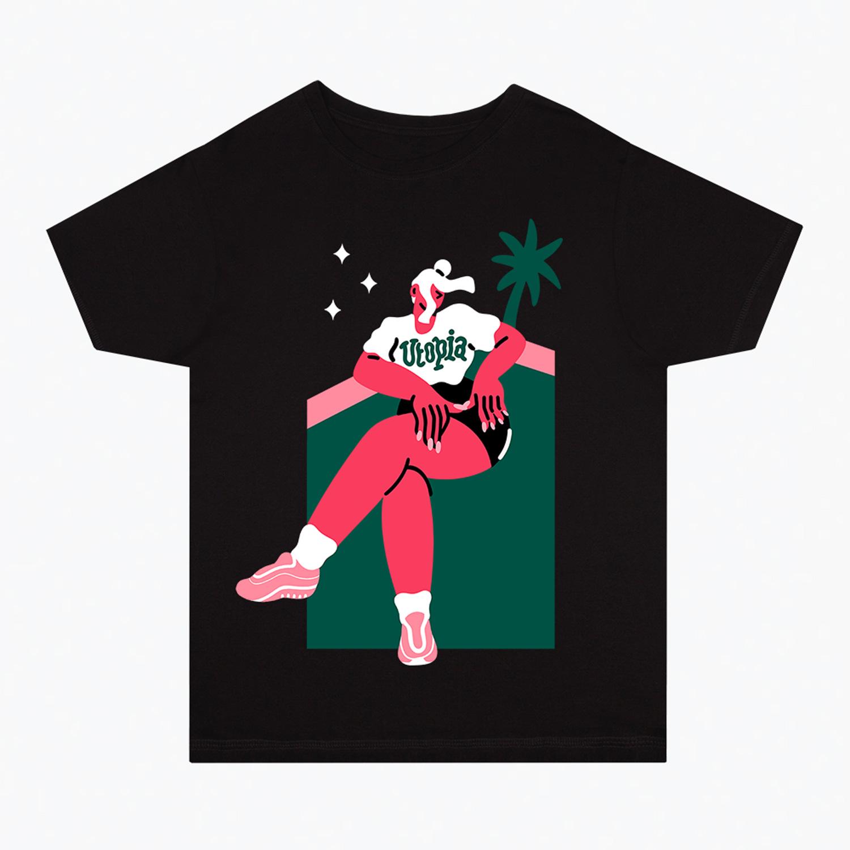 Marylou Faure's 'Utopia' T-shirt