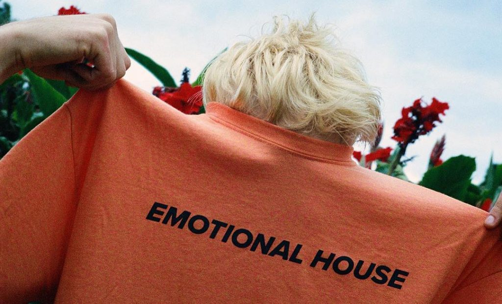 emotional house t-shirt copson london