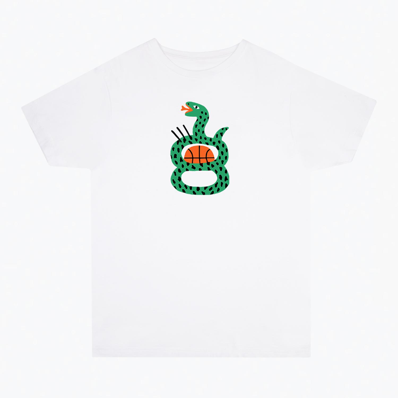 Stephanie Unger' 'Snake Hoop' T-shirt
