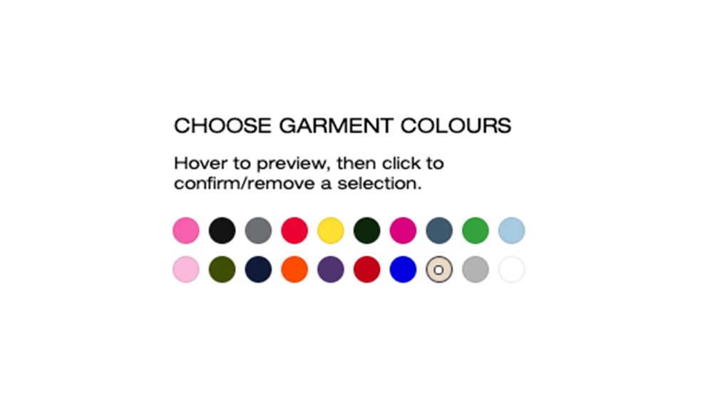 Garment Colours