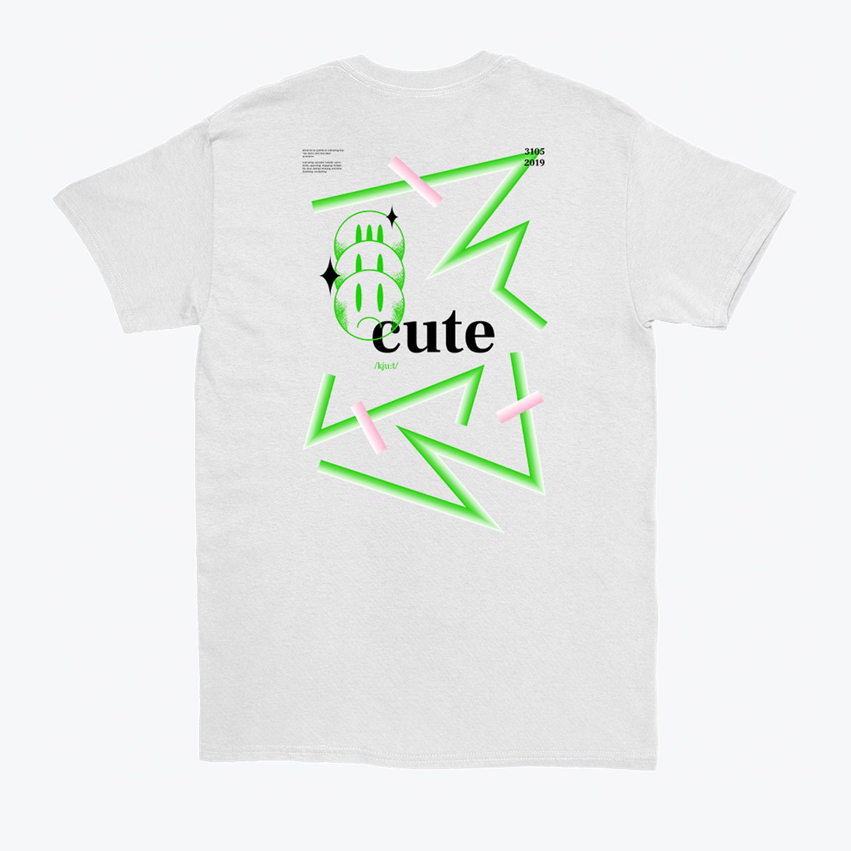 Valentin Lazar's 'Cute 01' T-shirt