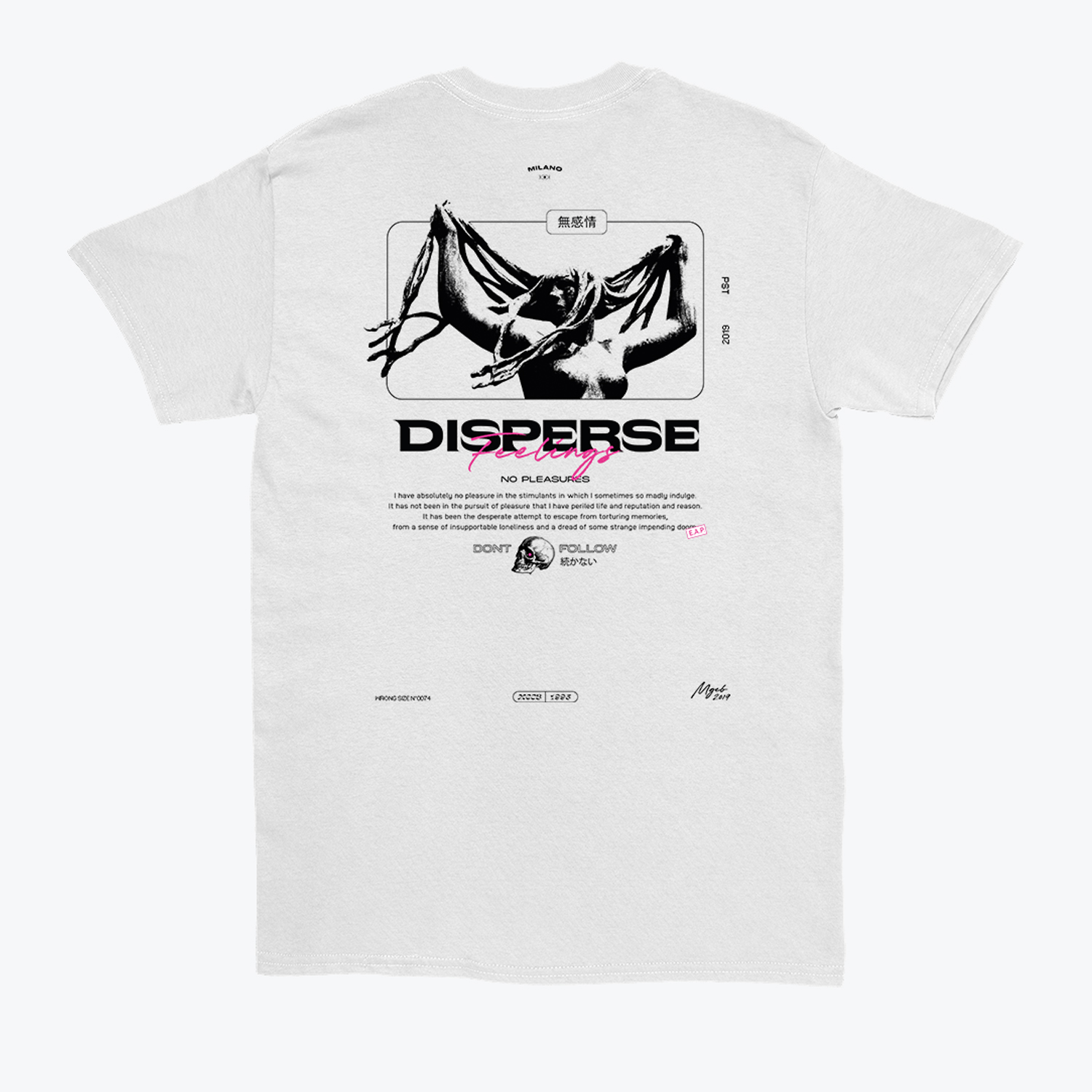 Marco Giacobbe's 'Disperse' T-shirt