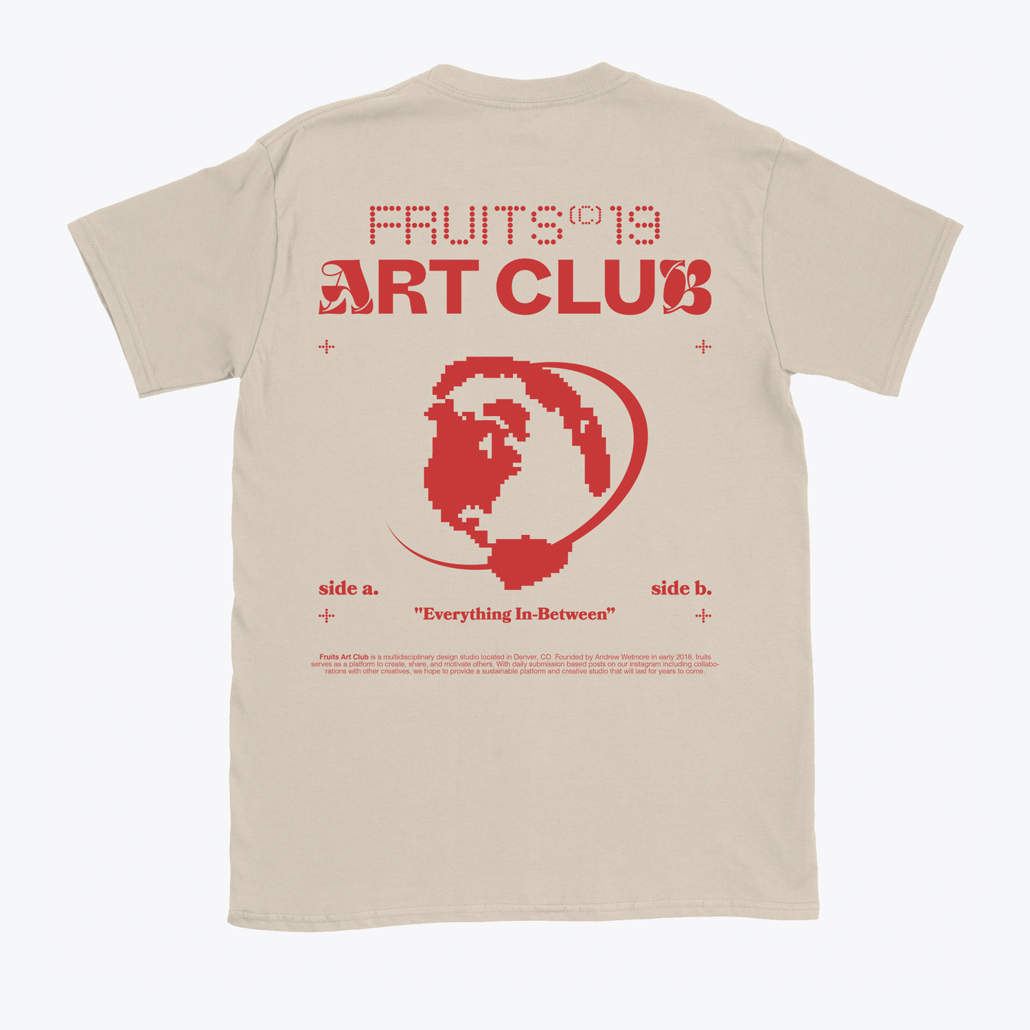 Fruits Art Club's 'Fruits F&F' T-shirt
