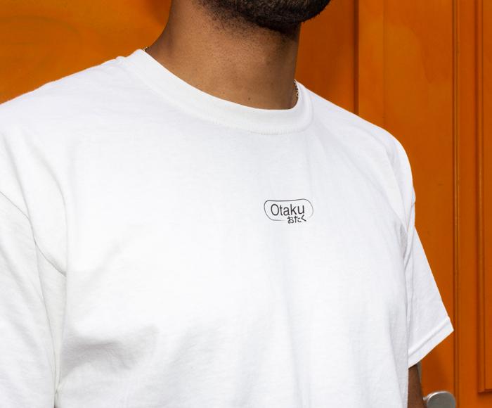 Kevin Moll & Lena Manger's 'Otaku' T-shirt photographed by