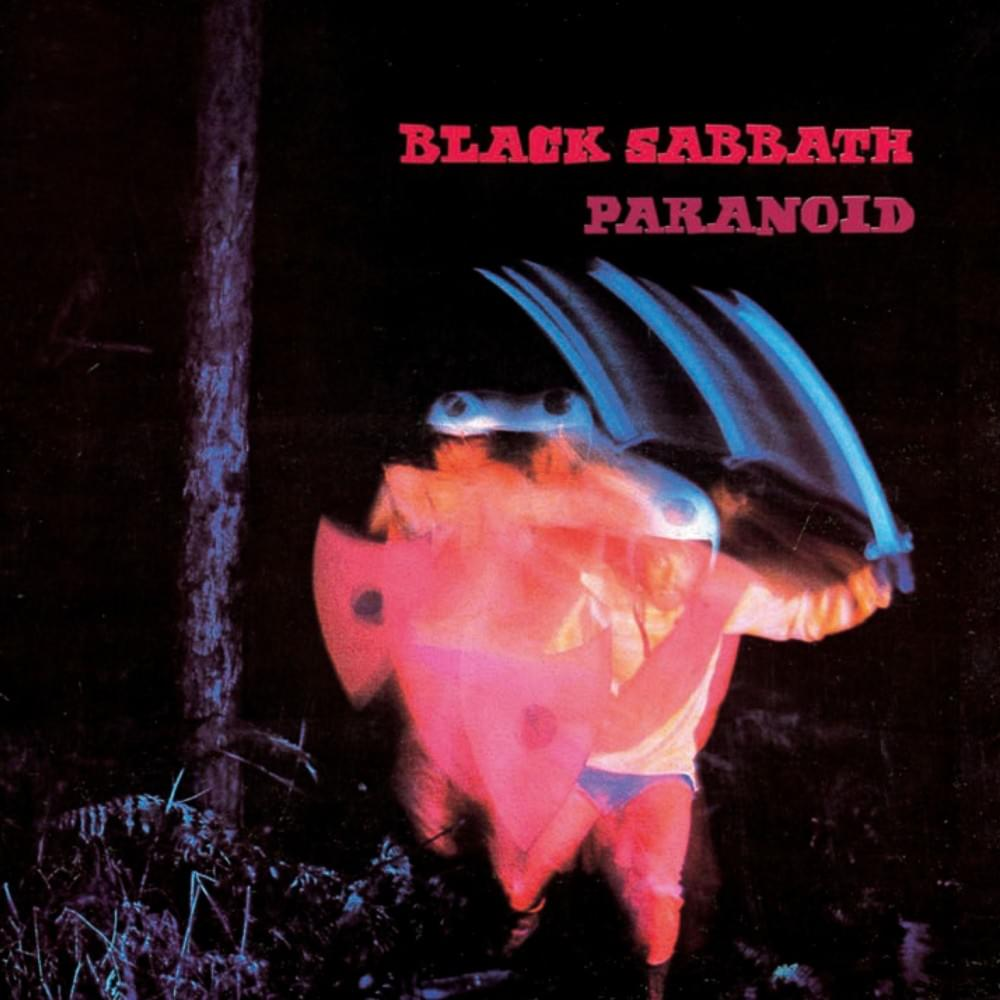 Black Sabbath 'Paranoid' artwork by Marcus Keef