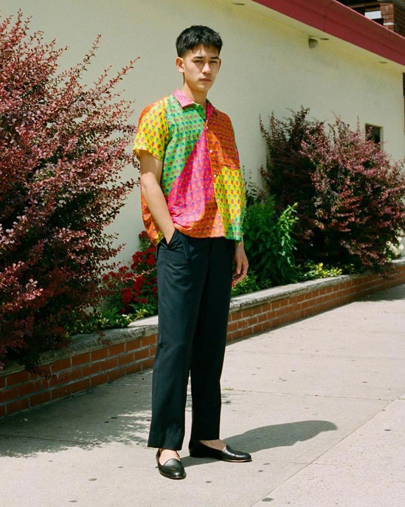 BODE Summer Paisley Shirt photographed by Mateus Lages