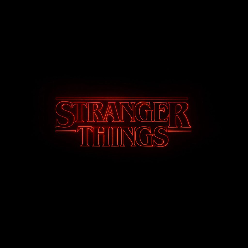 Stranger Things title by Jacob Boghosian