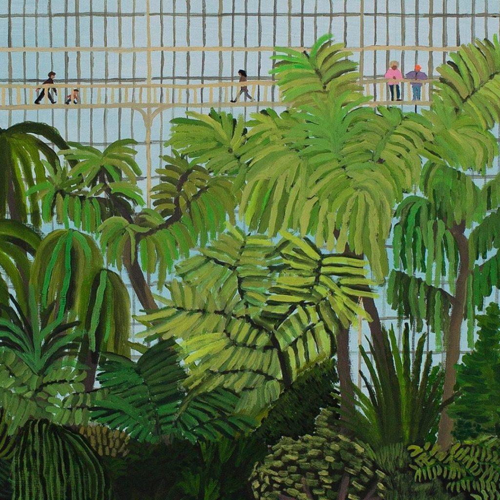 'La serre de Kew Garden' by Jean Jullien