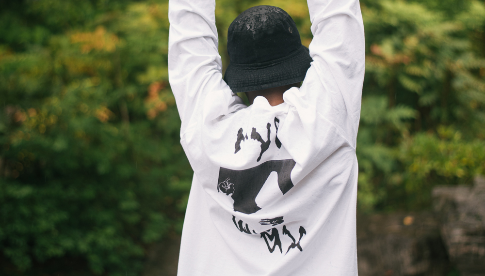 Rye Wax's 'Have A Good Time' T-shirt photographed by Cory Edwards