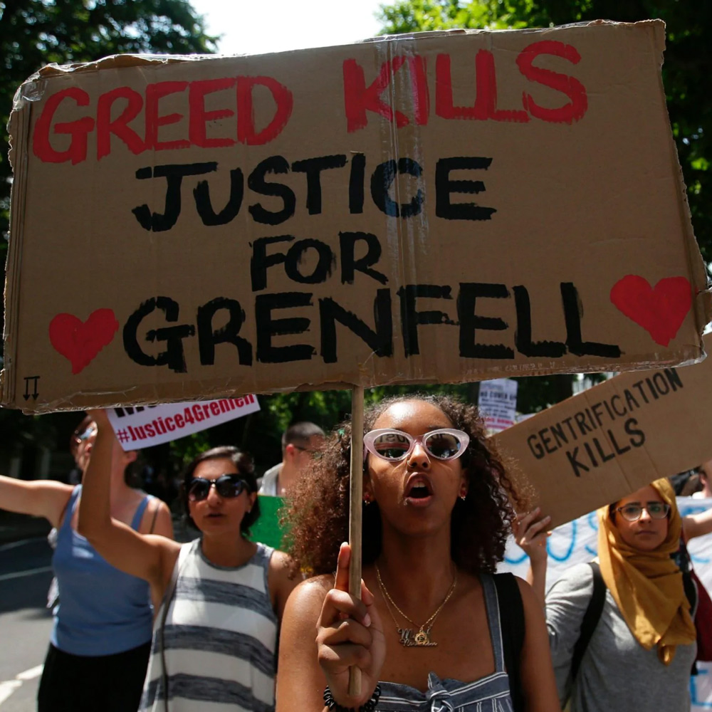 Justice 4 Grenfell march