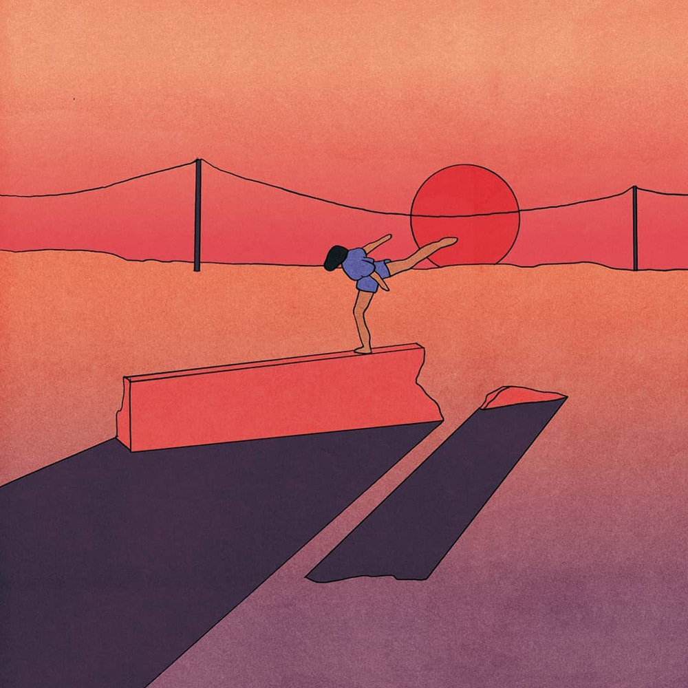 Jay Som sleeve artwork designed by María Medem