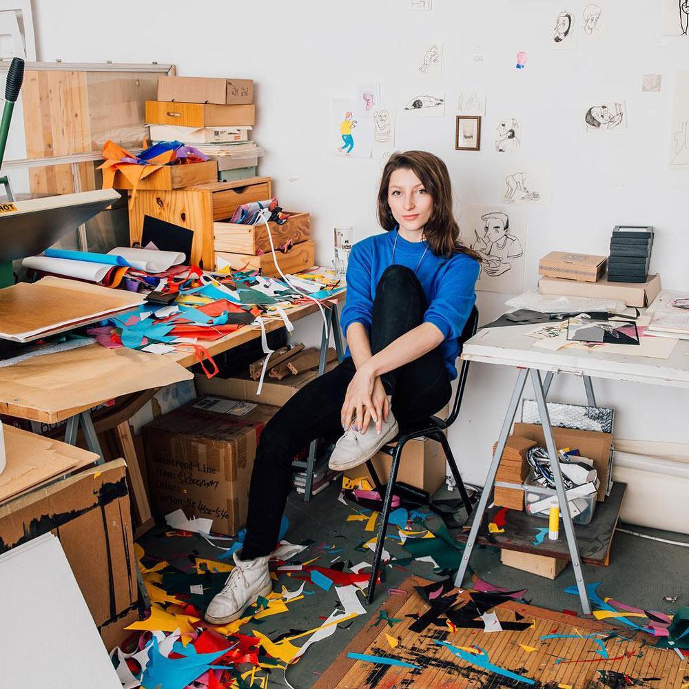 Nadine Kolodziey photographed by Camilo Brau