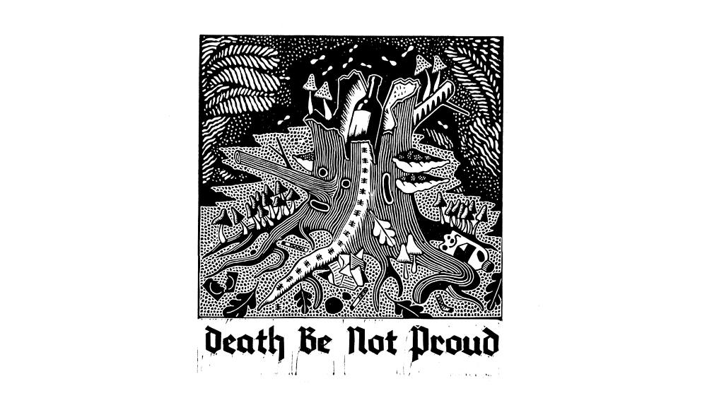 Sophy Hollington's 'Death Be No Proud' T-shirt design