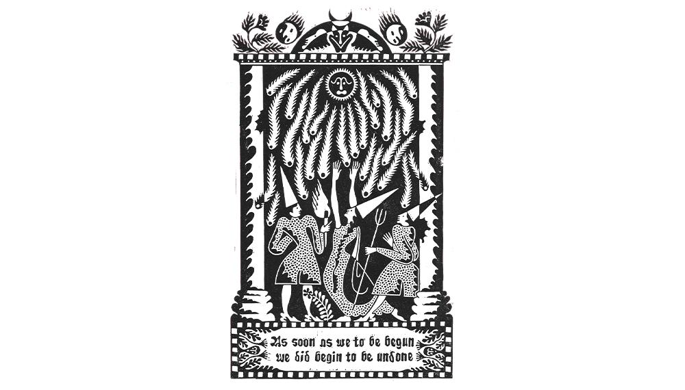 Sophy Hollington's 'Emblem' T-shirt design