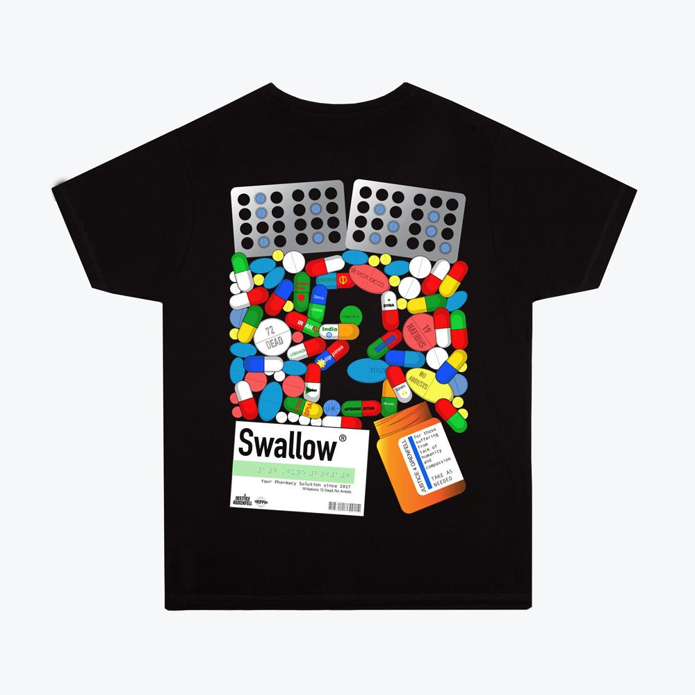 Trippin 50/50 2019 T-shirt design