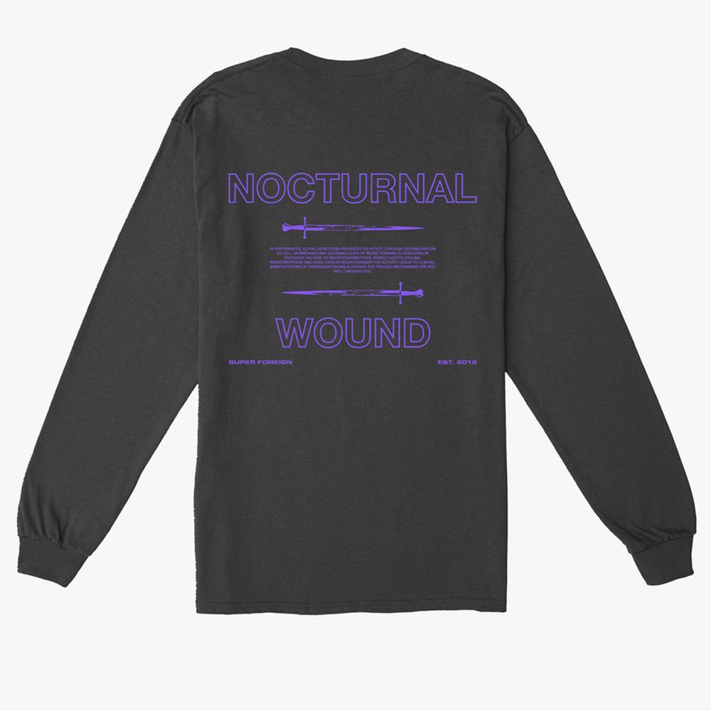 Brodie Kaman's 'Nocturnal Wound' T-shirt