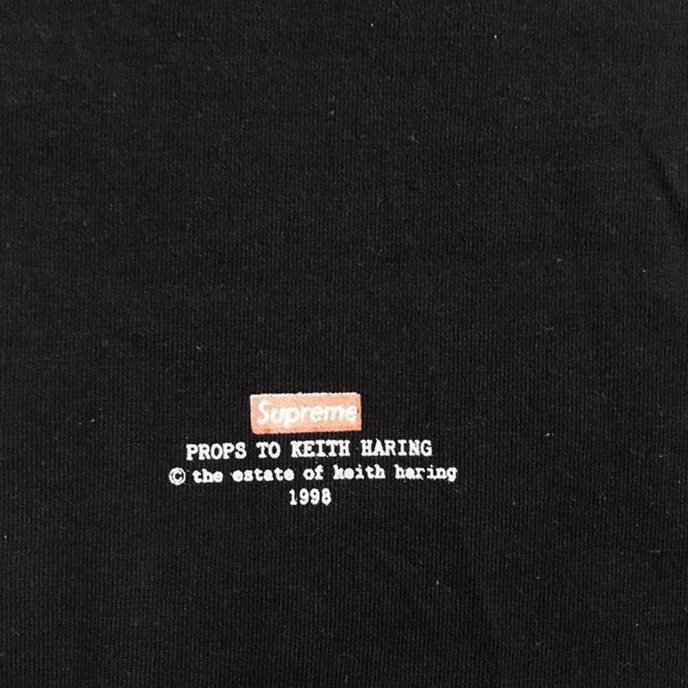 Supreme x Keith Haring 1998 T-shirt collaboration