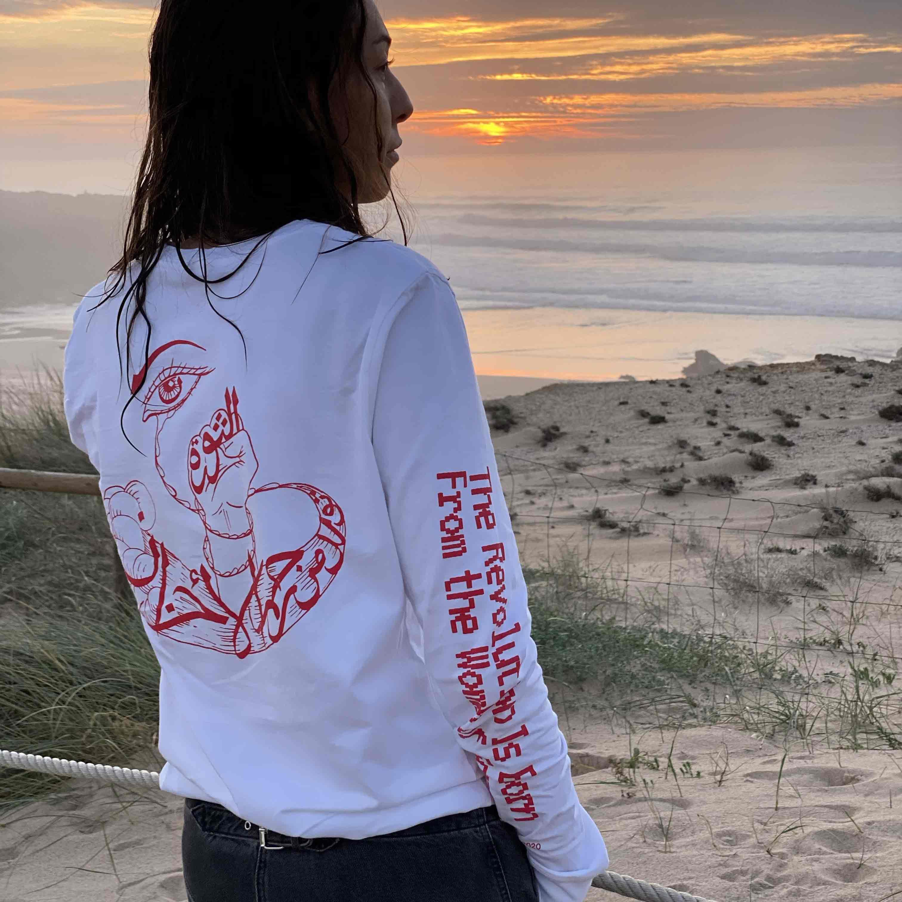 Everpress-blog-20-favourite-t-shirt-designs-2020-the-revolution-is-born-michael-challita-iman-raad